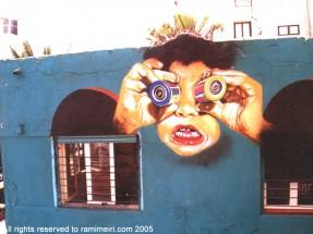 277__  _  ציורי רחוב -_ רחוב יהואש תל אביב, 2000   _