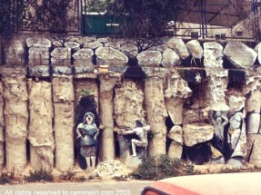 287__  _  ציורי רחוב -_   רחוב טשרניחובסקי תל אביב, 1983    _